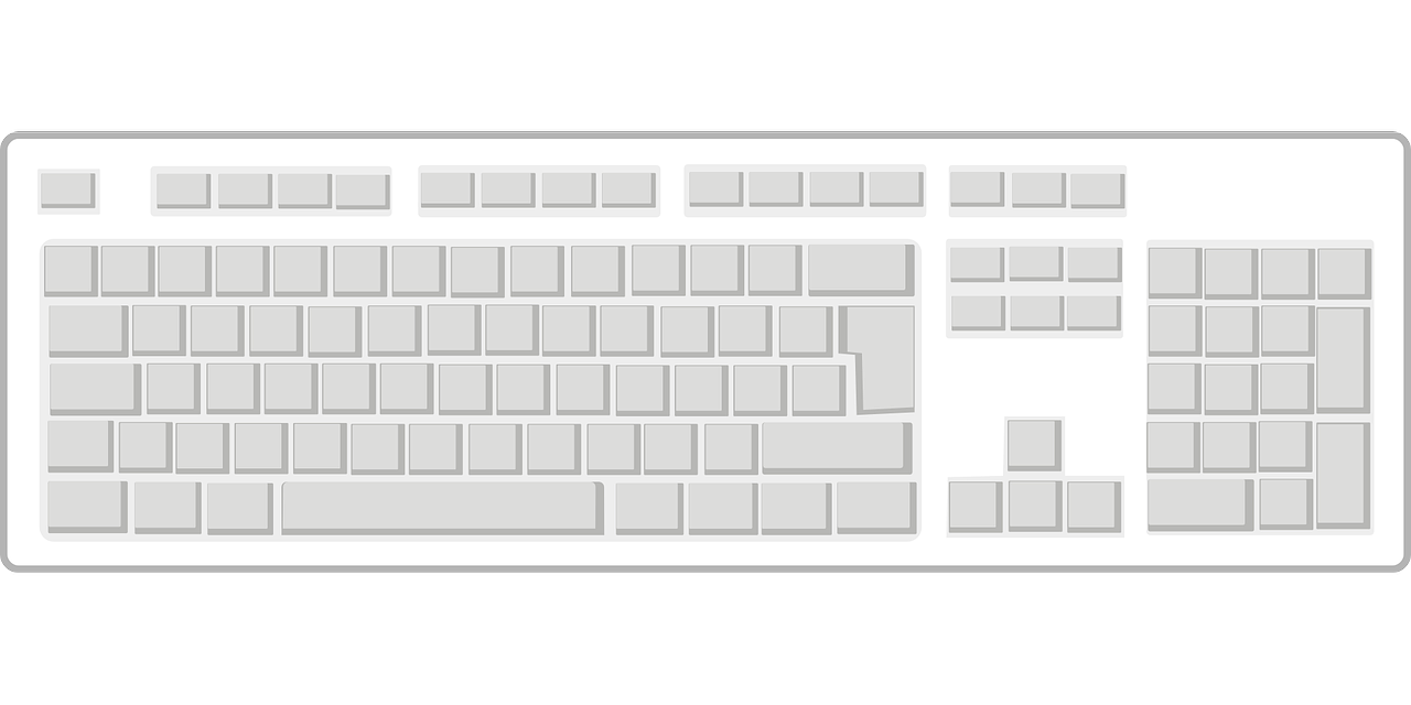 keyboard, blank, computer